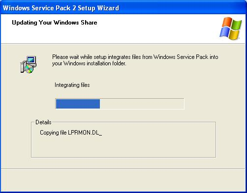 Service Pace 2 - Updating Windows Share